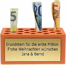 Grundstein für die erste Million - Geldgeschenk