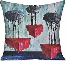 GRUNVGT Cushion Cover Pillow Cover Abstract Oil