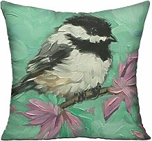 GRUNVGT Cushion Cover Pillow Cover Birds