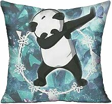 GRUNVGT Cushion Cover Pillow Cover Dancing Panda