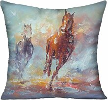 GRUNVGT Cushion Cover Pillow Cover Modern Abstract