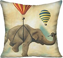 GRUNVGT Cushion Cover Pillow Cover Traveling