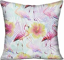 GRUNVGT Cushion Cover Pillow Cover Tropical