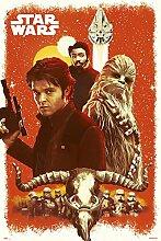 Grupo Erik Editores Poster Han Solo Star Wars,