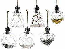 Gruppo Maruccia Weihnachtskugeln aus Glas mit
