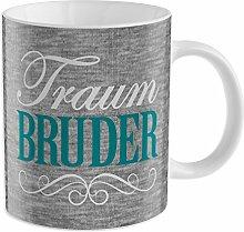 """GRUSS & CO 44218 Tasse """"Traum Bruder"""","""