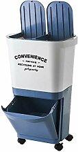 GRX-ZNLJT Abfalleimer küche Einstufung,Mülleimer