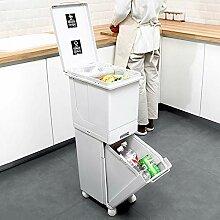 GRX-ZNLJT Küche Mit Deckel Mülleimer