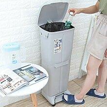 GRX-ZNLJT Mülleimer küche mülltrennung