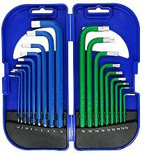 GS Tools Innensechskant-Schraubenschlüssel-Set,