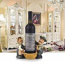 GSAI Weinregal Kreativ Harz Weinregal Dekoration