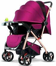 GSDZN - Kinderwagen Mit Aufbewahrungstasche