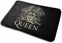 GSEGSEG Fußmatte Queen Band Logo, lustige