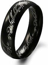 GSKTY Ring Titan Stahl Mode PersöNlichkeit