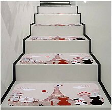 Gstbgbr Halloween-Stufenmatte für Halloween,