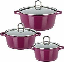 GSW 506007 Gourmet Premium Color Topf-Set,