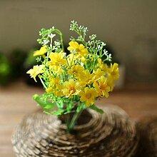 GSYLOL 1Bunch Künstliche BlumenOrchidee