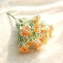 GSYLOL Beflockung Sukkulenten Frühling Ball Blume