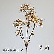 GSYLOL Künstliche Dornen Sellerie Blume