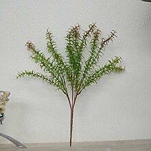 GSYLOL Künstliche Grüne Kunststoff Pflanzen Gras
