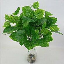 GSYLOL Künstliche Ivy Blätter Grüne Rettich