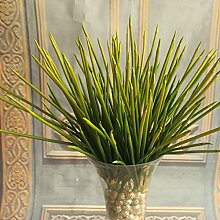 GSYLOL Künstliche Kunststoff Bambus Grüne