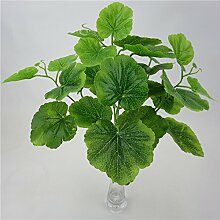 GSYLOL Künstliche Pflanzen Begonie Blätter