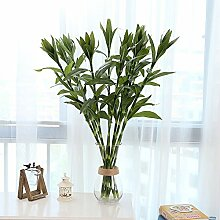 GSYLOL Pastoralen Kunstseide Blumen Glück Bambus