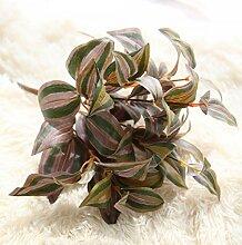 GT Künstliche Blumen einzige zweigstelle, Augenbrauen, Blatt, Pflanze, Ideal für Hochzeit, Braut, Party, zu Hause, Büro Einrichtung fake Blumen