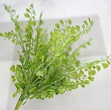 GT Künstliche Blumen einzige zweigstelle, Geld verlässt, lange Rattan, grüne Pflanze, Pflanze Wand, Ideal für Hochzeit, Braut, Party, zu Hause, Büro Einrichtung fake Blumen