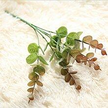 GT Künstliche Blumen Einzigen Zweig, Blätter, Blumen, Pflanzen, pflanze Wände Perfekt für Hochzeit, Braut, Party, zu Hause, Büro Einrichtung fake Blumen