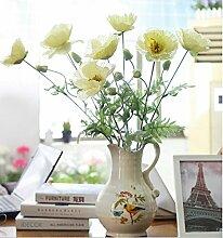 GT Künstliche Blumen Frühling 2 Kopf, simulation Blumen, Dekoration
