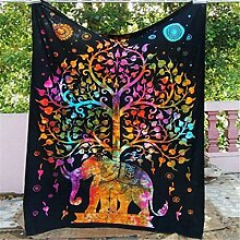 GTDE Indische Dekor Mandala Tapisserie Wandbehang