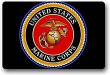 GTdgstdscCustom Fußmatte United States Marine