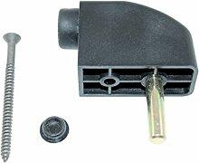 GU Schiebetür Türstopper / Anschlagpuffer schwarz