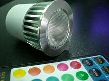 GU10 5W Power LED RGB inkl. Fernbedienung