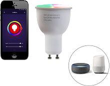 GU10 dimmbare LED Lampe WiFi Smart mit 4.5W 380