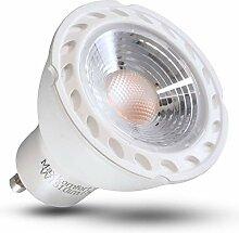 GU10 LED Lampe 7W 10x SET Glühbirne warmweiß 630