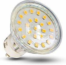GU10 LED Lampe Dimmbar 4W 10x SET Glühbirne