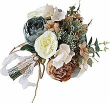 GuanjunLI 1 Stück Brautstrauß Hochzeit