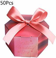 GuanjunLI 50 Stück rote Rosen Papier