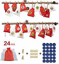 GuanjunLI Weihnachts-Geschenktüte für Geschenke,