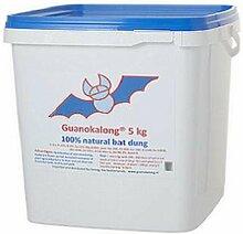 Guanokalong Pulver 5kg Dünger Nahrung Guano Grow