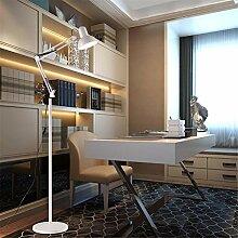 GUANSIJIE® Stehleuchten Floor Lamps Indoor Light Led Faltbar Einstellbare Gestickte Schönheit Licht Einfache Moderne Schlafzimmer Wohnzimmer Tischleuchten Vertikale Dekoration Bodenleuchten , White , 12W