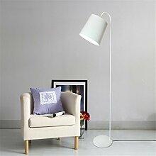GUANSIJIE® Stehleuchten Indoor Light Led Einfache Moderne Schlafzimmer Wohnzimmer Tischleuchten Vertikale Dekoration Bodenleuchten , White , 160Cm
