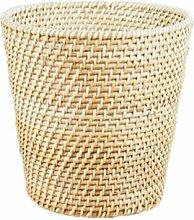 GUANSIJIE® Wäschekorb Laundry Basket Rattan Dirty Clothes Korb Home Simplicity Hand Made Weide Weave Lagerung Korb Lagerung Eimer Abfalleimer 26 * 20 ** 26CM , A