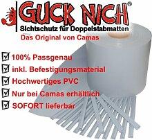 Guck Nich Sichtschutz für Doppelstabmatten / Zaun / Gartenzaun