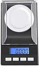 GuDoQi® 50G 0.001G LCD Digital Elektronische Waage Laborwaage Hohe Präzision Tragbare Messgewichte Werkzeuge Medizinische Skala Échelles de bijoux