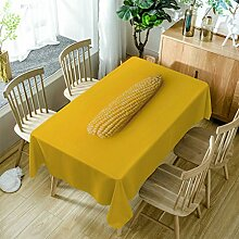 GuDoQi Tischdecke Mais Muster Rechteck Tischdecke Tischdecken aus Polyestergewebe für Küche und Esstisch Dekoration