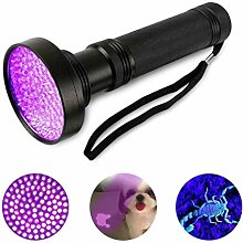 GuDoQi UV Schwarzlicht Taschenlampe Mit 100 LEDs